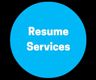 Resume Services Menu Option