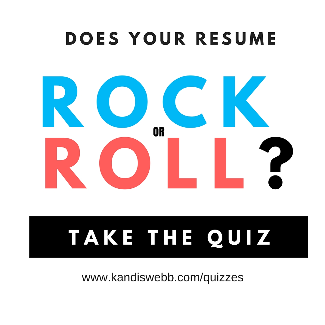 Does Your Resume Rock or Roll